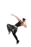 Man dancer isolated Stock Photo