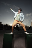 Man dancing Royalty Free Stock Photo