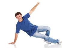 Man dancing hip-hop Royalty Free Stock Photos