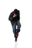 Man Dancing Hip Hop Style Dancing Royalty Free Stock Image