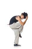 Man dancing isolated Stock Photo