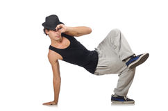 Man dancing isolated Stock Photos