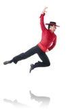Man dancing spanish dances Royalty Free Stock Image