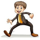 A man dancing Royalty Free Stock Photo