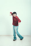 Man dancing Royalty Free Stock Photos