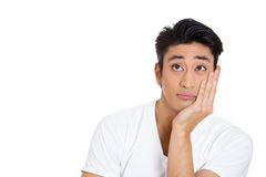 Man daydreaming Royalty Free Stock Photography
