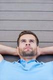 Man daydreaming. Stock Photos