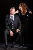 Man de film van het vrouwenpaar noir Royalty-vrije Stock Afbeelding