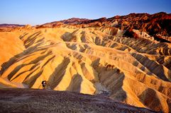 Man in Death Valley National Park Royalty Free Stock Photo