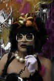 Man deltagandet i den Provincetown karnevalet på Provincetown Massachusetts. Royaltyfri Fotografi