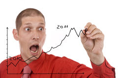Man designing Stock Image