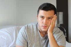 Man with despair close up royalty free stock photos