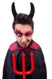 Man in devil costume Stock Image