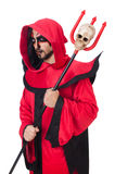 Man devil Royalty Free Stock Image