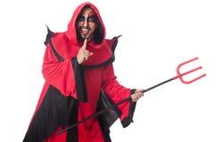 Man devil Royalty Free Stock Photos