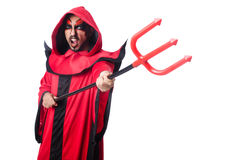 Man devil Stock Photo