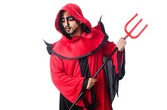 Man devil Royalty Free Stock Photography