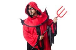 Man devil Royalty Free Stock Photography