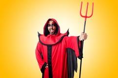 Man devil Stock Images