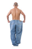 Man in dieting concept Stock Image