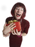 A man disguised in a woman Royalty Free Stock Photo