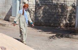 Man in dishdasha Stock Photography