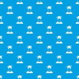 Man with dizziness pattern seamless blue Stock Photos