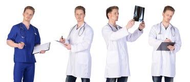 Man doctor group Stock Photos