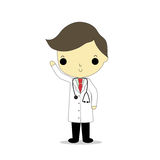 Man doctor isolate Royalty Free Stock Image