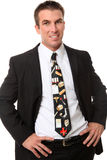 Man Doctor with Medical Themed Tie Stock Photos