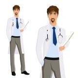 Man doctor portrait Royalty Free Stock Photos