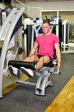 Man doing athlete exercise Stock Photos