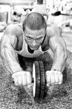 Man doing athlete exercise Royalty Free Stock Photo