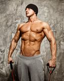Man doing fitness exercise Royalty Free Stock Photography