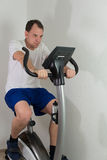 Man doing fitness for health Royalty Free Stock Images