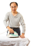 Man doing housework Royalty Free Stock Images