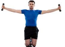 Man doing workout Stock Photos
