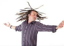 Man with Dreadlocks Stock Photography