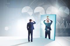 Free Man Dreaming Of Bigger Success Stock Photo - 169052730