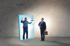 Free Man Dreaming Of Bigger Success Stock Photos - 169052733