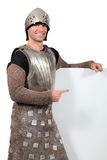 Man dressed as a knight Royalty Free Stock Image