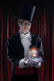 Man dressed as a magician Royalty Free Stock Images
