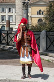 Man dressed as old Roman Royalty Free Stock Photography