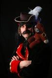 Man dressed as pirate royalty free stock photos