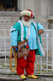 Man dressed like an Ottoman Stock Images