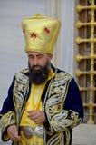 Man dressed like an Ottoman Stock Photography