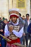 Man dressed like an Ottoman Royalty Free Stock Image