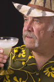 Man and drink Royalty Free Stock Photography
