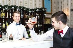 Man drinking alcohol Royalty Free Stock Photo