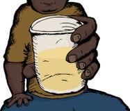 Man Drinking Alcohol Stock Photography